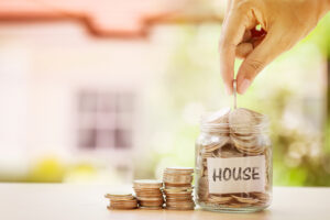 Deposit for first-time homebuyer mortgage